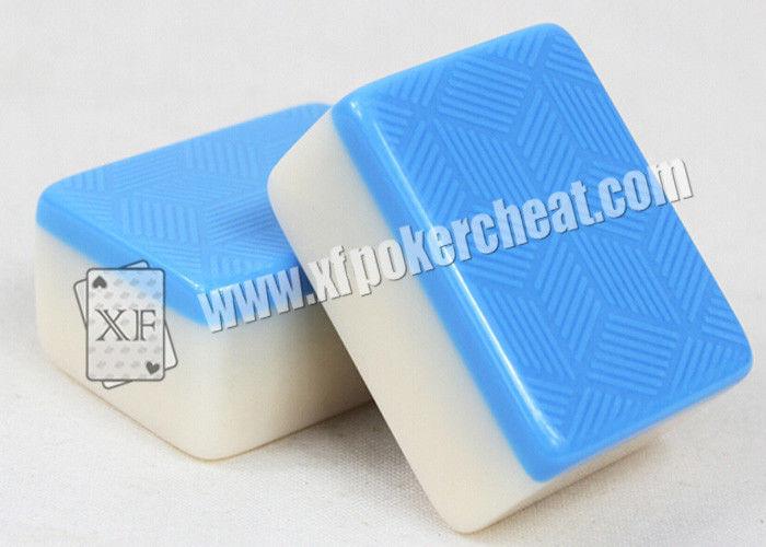 Le carte da gioco invisibili iso mahjong posteriore